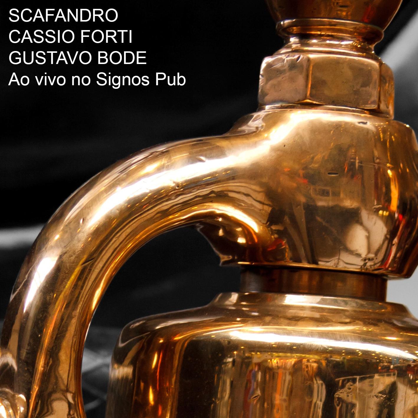 MSRCD042 - Scafandro + Cassio Forti + Gustavo Bode - Ao Vivo No Signos Pub