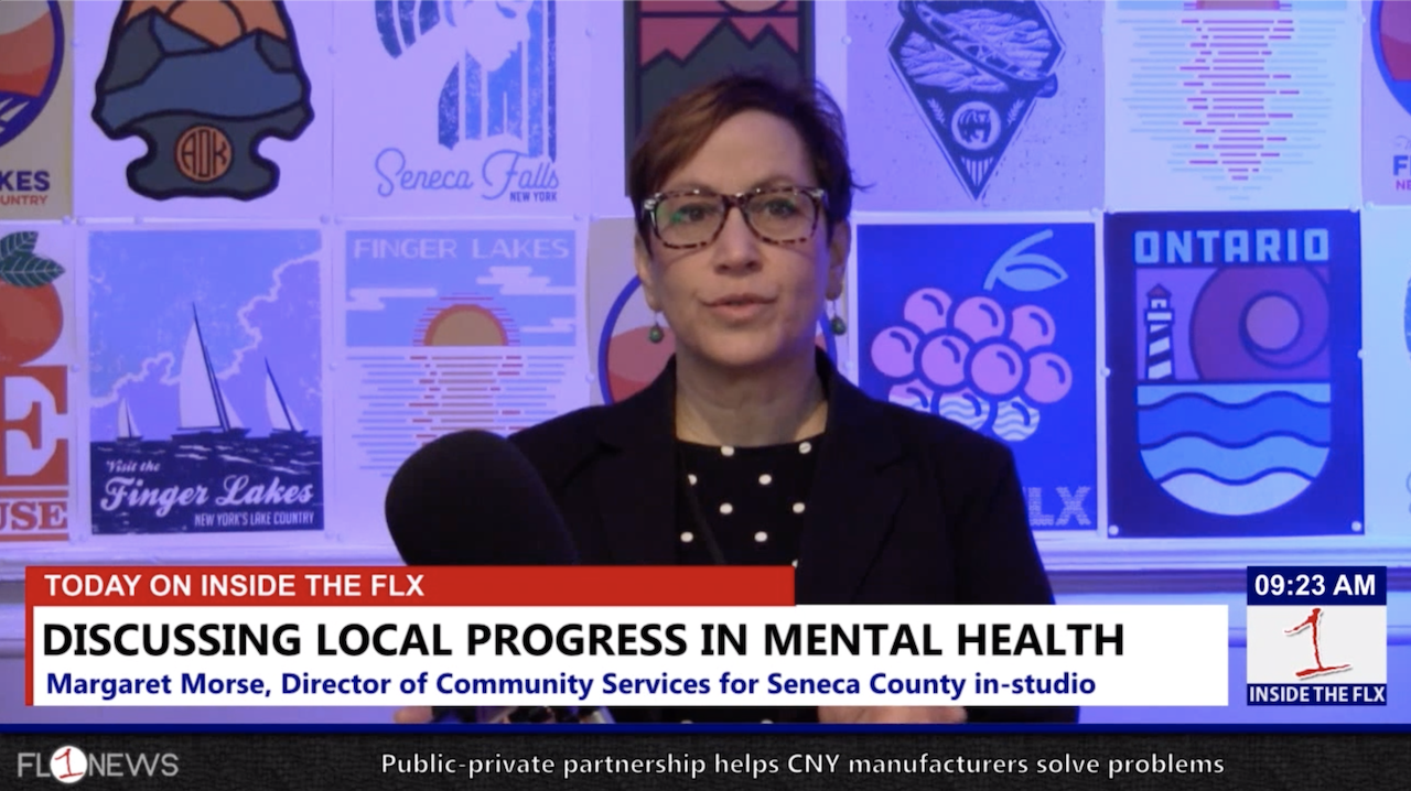 Discussing mental health in rural parts of the Finger Lakes .::. Inside the FLX 2/8/19