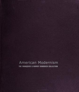Cover of: American Modernism |