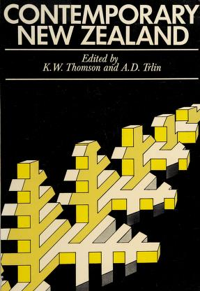 Cover of: Contemporary New Zealand: essays on the human resource, urban growth and problems of society | edited by K. W. Thomson [and] A. D. Trlin.