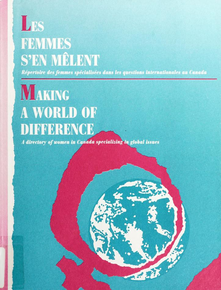 Making a world of difference by