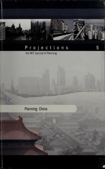 Cover of: Projections | Massachusetts Institute of Technology. Dept. of Urban Studies and Planning