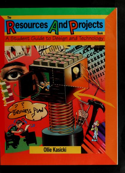 The resources and projects book by Ollie Kasicki