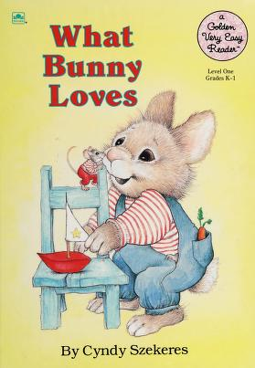Cover of: What Bunny Loves (Road to Reading) | Cyndy Szekeres